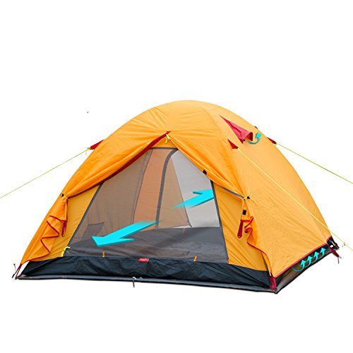Weanas Waterproof Double Layer 2 3 4 Person 3 Season Backpacking Tent  sc 1 st  Best Sleeping Bag in the Market & Best Lightweight Backpacking Tent: Which Are The 7 Most Popular Types?