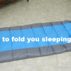 How To Fold A Sleeping Bag